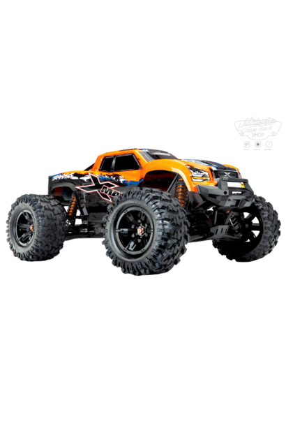 Traxxas X-Maxx 4WD VXL-8S Monstertruck TQi TSM (no battery/charger),  Orange V2 TRX77086-4O