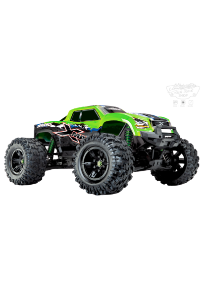 Traxxas X-Maxx 4WD VXL-8S Monstertruck TQi TSM (no battery/charger), Green V2 TRX77086-4GRNX