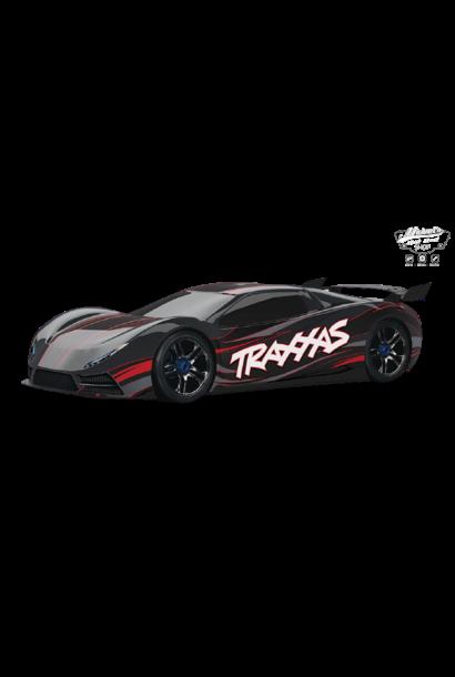 Traxxas XO-1 Supercar 4WD TQi TSM (no battery/charger), Black TRX64077-3BLK