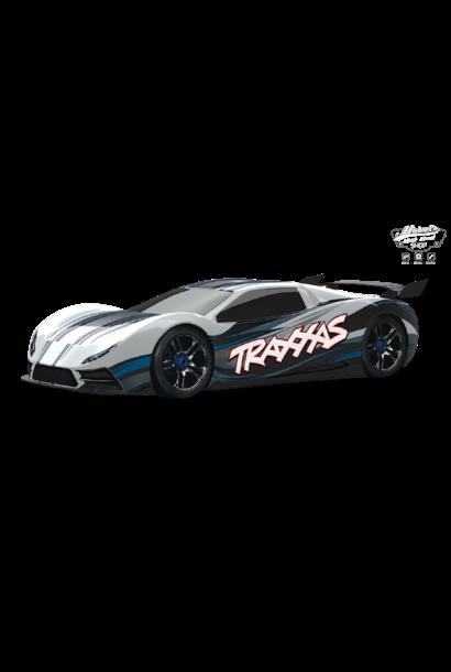 Traxxas XO-1 Supercar 4WD TQi TSM (no battery/charger), White TRX64077-3W