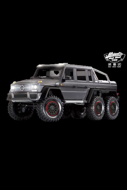 Traxxas TRX-6 Mercedes-Benz G 63 AMG Body 6X6 Electric Trail Truck Silver