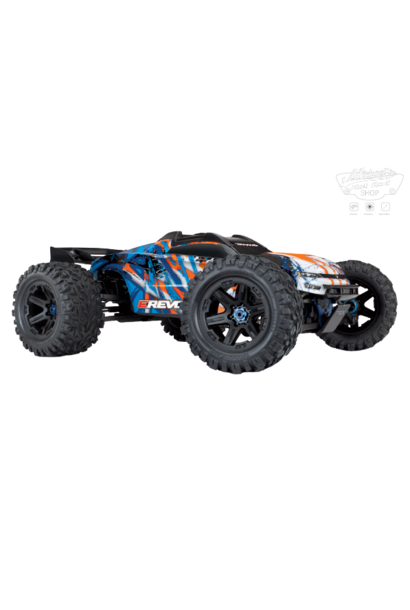 Traxxas E-Revo 2 TQi VXL-6S (no battery/charger), Orange TRX86086-4O