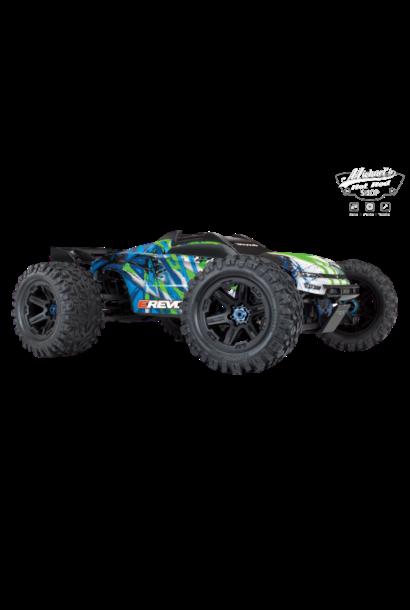 Traxxas E-Revo 2 TQi VXL-6S excl. accu/lader, Green TRX86086-4G