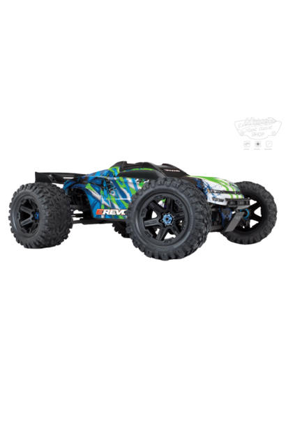 Traxxas E-Revo 2 TQi VXL-6S (no battery/charger), Green TRX86086-4G