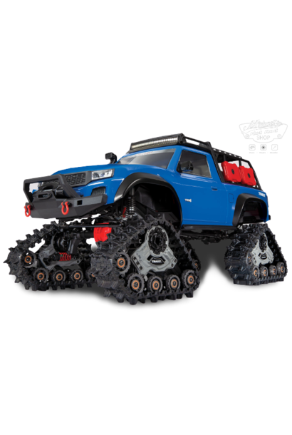 Traxxas TRX-4 Sport equipped with TRAXX TQ XL-5 (No battery/charger), Blue