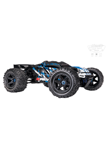 Traxxas E-Revo 2 TQi VXL-6S (no battery/charger), Blue TRX86086-4B