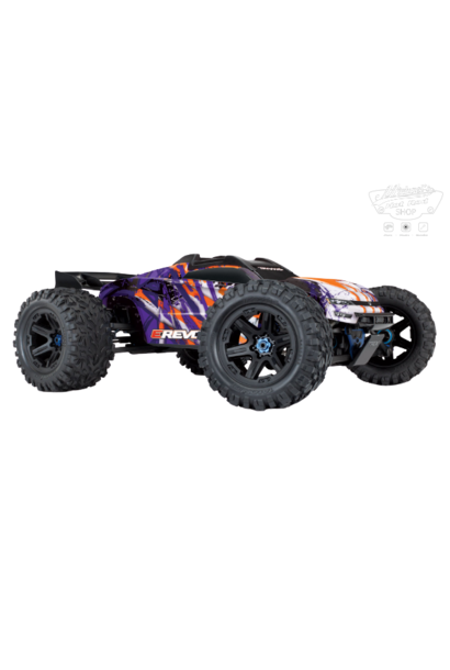 Traxxas E-Revo 2 TQi VXL-6S (no battery/charger), Purple TRX86086-4P