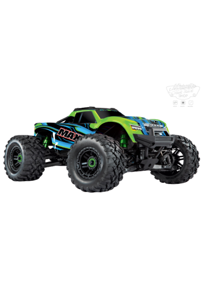Traxxas Maxx 1/10 Scale 4WD Brushless Electric Monster Truck, VXL-4S, TQi - GRNX TRX89076-4GRNX