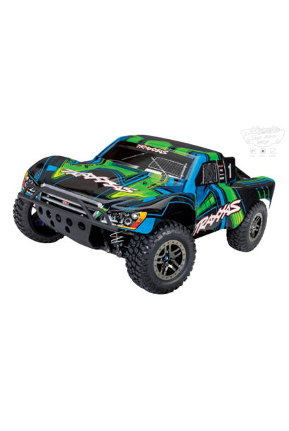 Traxxas Slash 4X4 Ultimate LCG VXL TQi TSM (no battery/charger), Green, TRX68077-4G