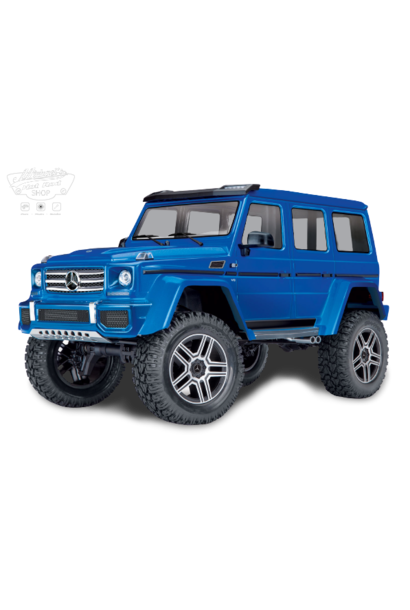 Traxxas TRX-4 Mercedes G500 4x4 Blue With Led Set