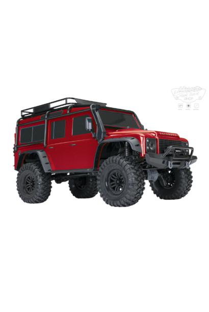 Traxxas Land Rover Defender Crawler Red