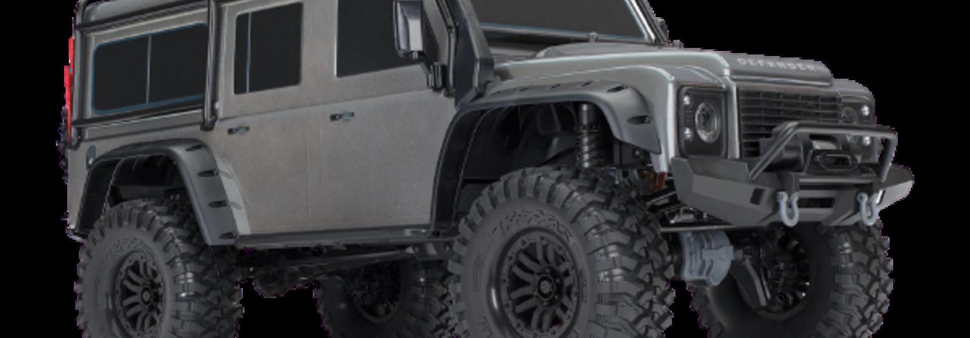 Traxxas Land Rover Defender Crawler Silver TRX82056-4S
