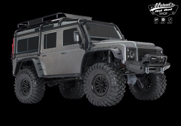 Traxxas Land Rover Defender Crawler Silver TRX82056-4S-1