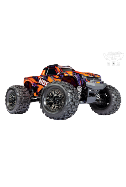 Traxxas Hoss 1/10 Scale 4WD Brushless Electric Monster Truck, VXL-3S, TQi - Orange TRX90076-4O