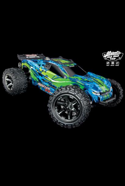 Traxxas Rustler 4X4 VXL TQI TSM (no battery/charger), Green, TRX67076-4G