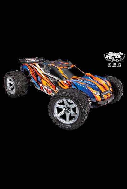 Traxxas Rustler 4X4 VXL TQi TSM (no battery/charger), Orange TRX67076-4O