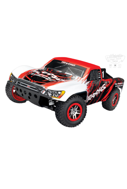 Traxxas Slash 4x4 VXL TQi TSM (no battery/charger), Red, TRX68086-4R