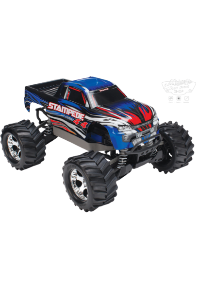 Traxxas Stampede 4x4 XL-5 TQ (incl battery/charger), Blue