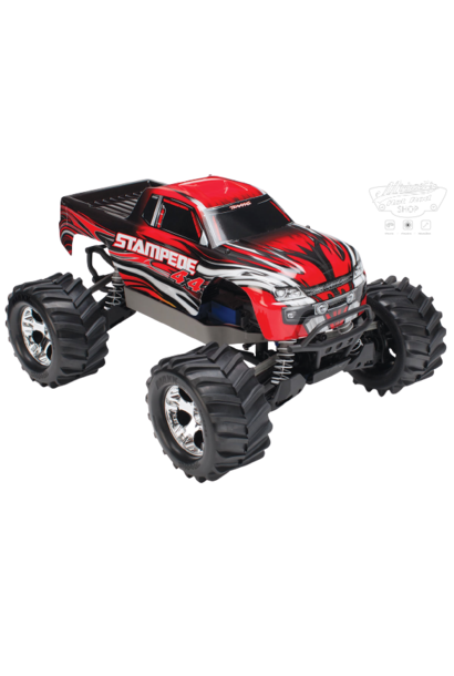 Traxxas Stampede 4x4 XL-5 TQ (incl battery/charger), Red, TRX67054-1R