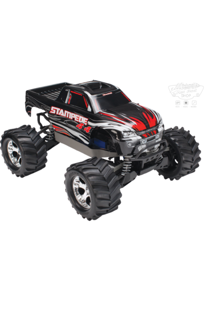 Traxxas Stampede 4x4 XL-5 TQ (incl battery/charger), Black, TRX67054-1BLK