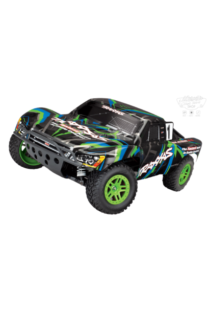 Traxxas Slash 4X4 XL-5 TQ (incl battery/charger), Green, TRX68054-1G