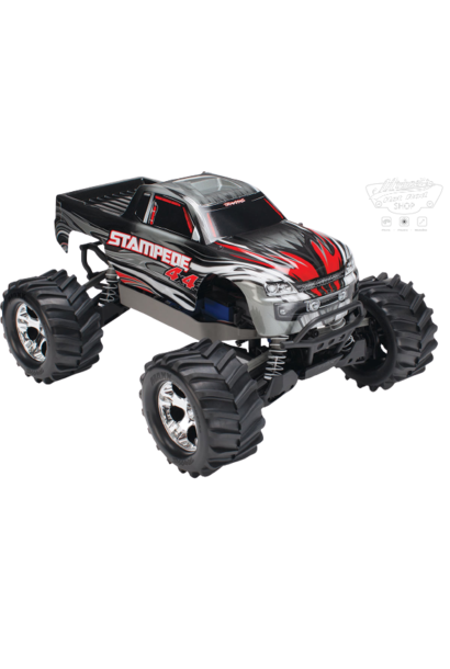 Traxxas Stampede 4x4 XL-5 TQ (incl battery/charger), Silver