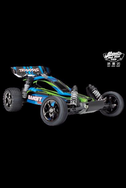 Traxxas Bandit VXL TQi TSM (no battery/charger), Blue, TRX24076-4B