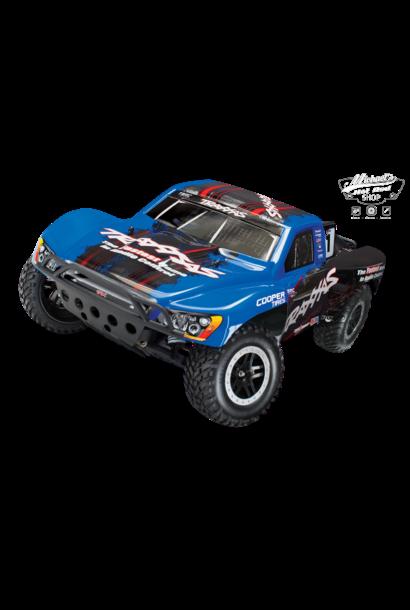 Traxxas Slash 2WD XL-5 TQ OBA (incl battery/charger), Blue, TRX58034-2B
