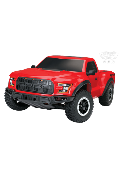 Traxxas Ford F-150 Raptor 2WD XL-5 TQ (incl battery/charger), Red, TRX58094-1R