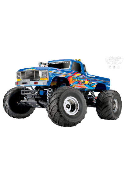 Traxxas BigFoot No. 1 The Original Monster Truck , XL-5 TQ (incl battery/charger) BLEUX TRX36034-1BLUEX
