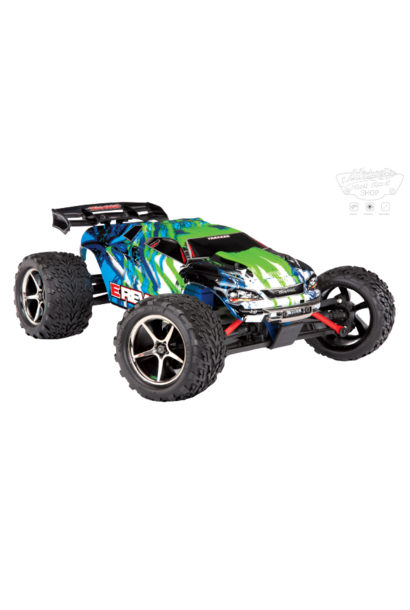Traxxas E-Revo 1/16 4x4 Brushed TQ (incl battery/charger), Green TRX71054