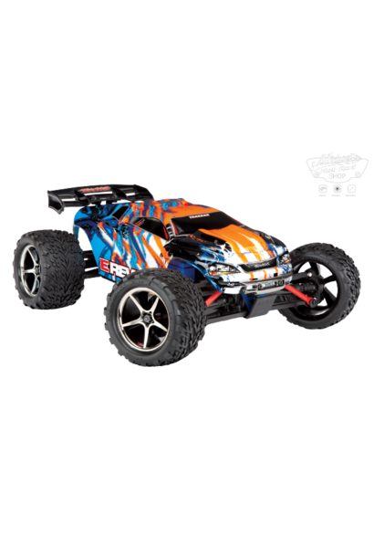 Traxxas E-Revo 1/16 4x4 Brushed TQ (incl battery/charger), Orange