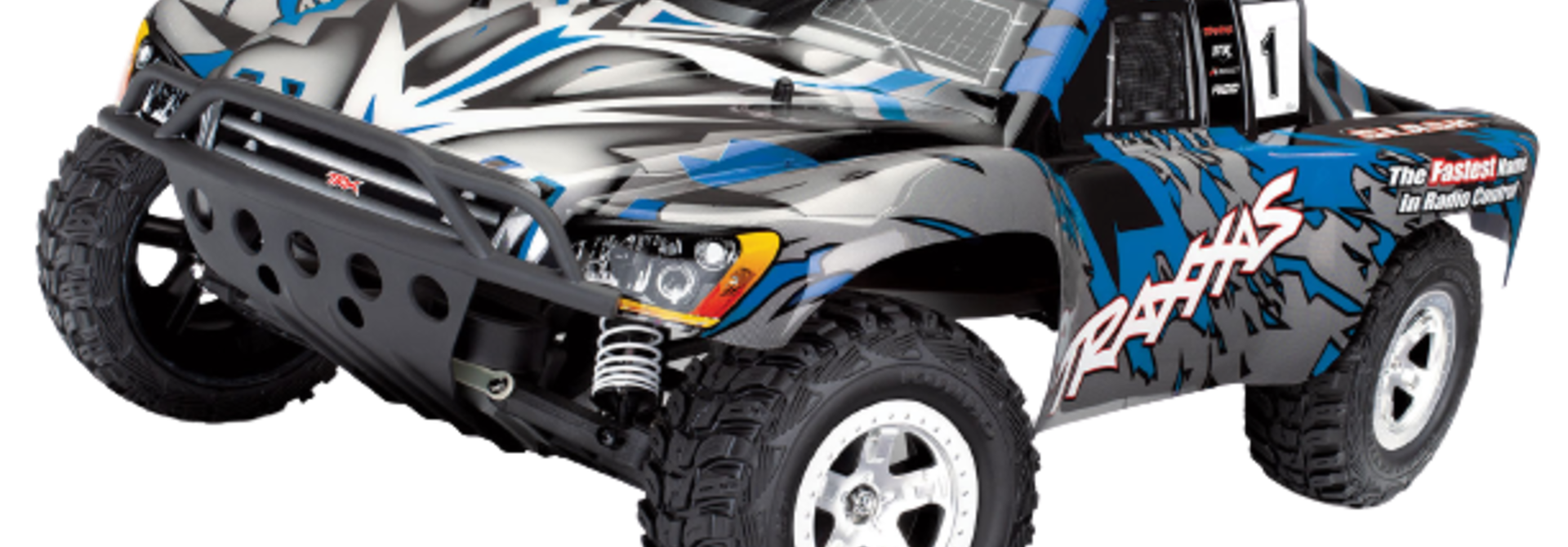 Traxxas Slash 2WD XL-5 TQ (no battery/charger), Blue, TRX58024-B