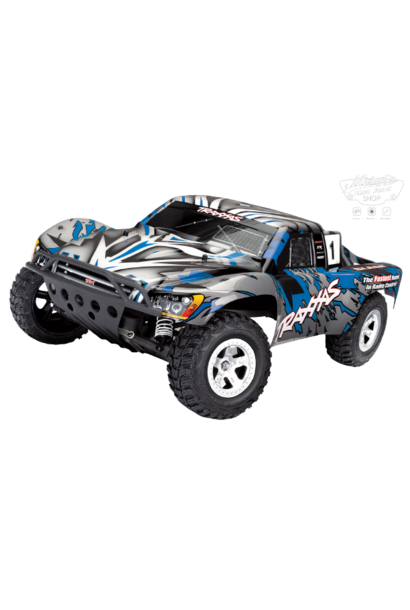 Traxxas Slash 2WD XL-5 TQ (no battery/charger), Blue, TRX58024-B