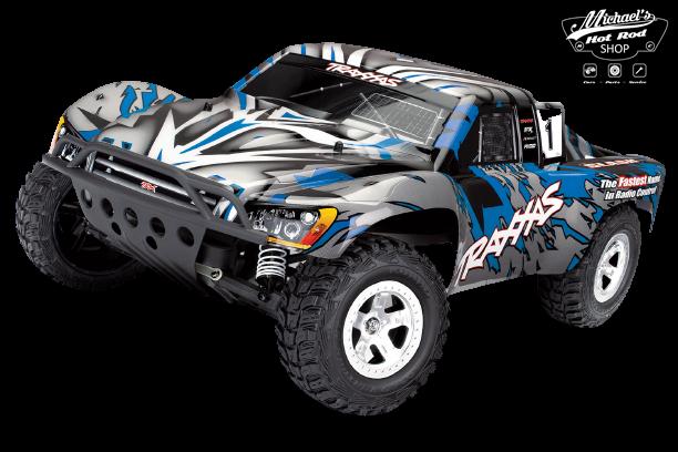 Traxxas Slash 2WD XL-5 TQ (no battery/charger), Blue, TRX58024-B-1