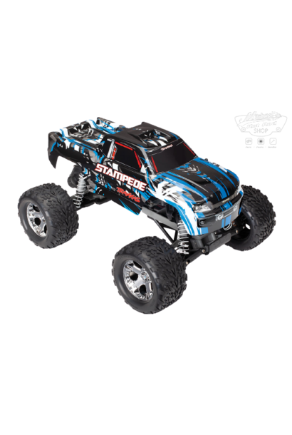 Traxxas Stampede XL-5 TQ (incl battery/charger), Blue, TRX36054-1B