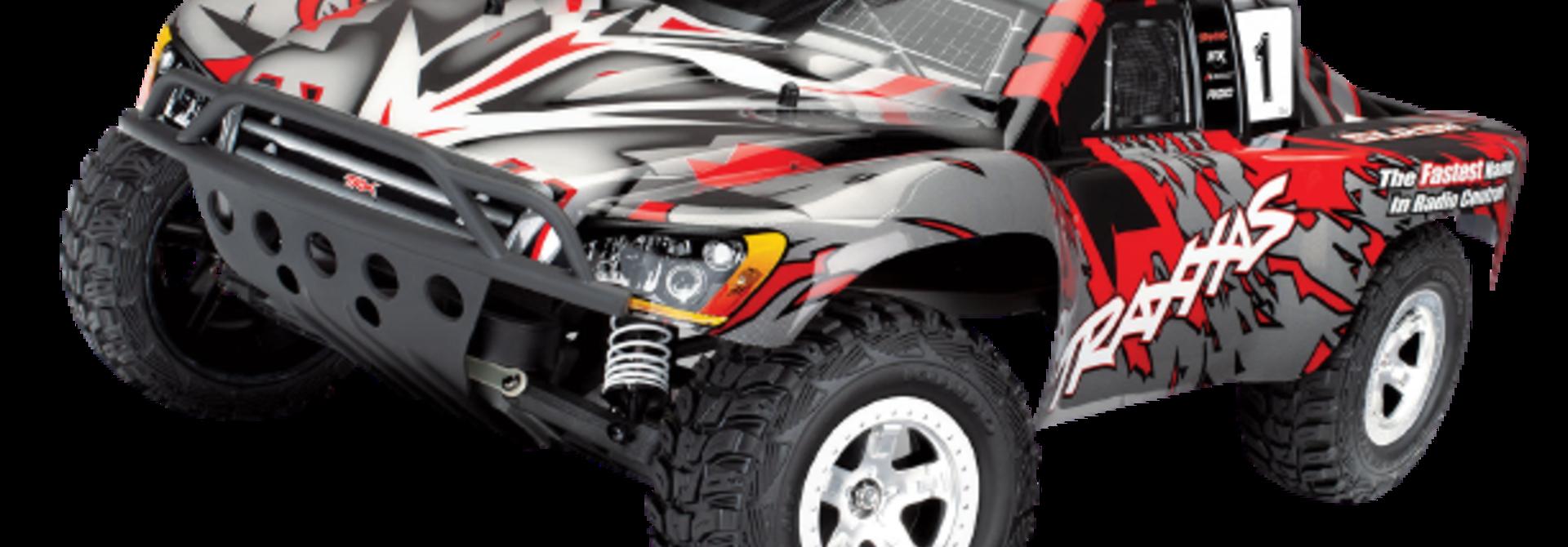 Traxxas Slash 2WD XL-5 TQ (no battery/charger), Red, TRX58024-R