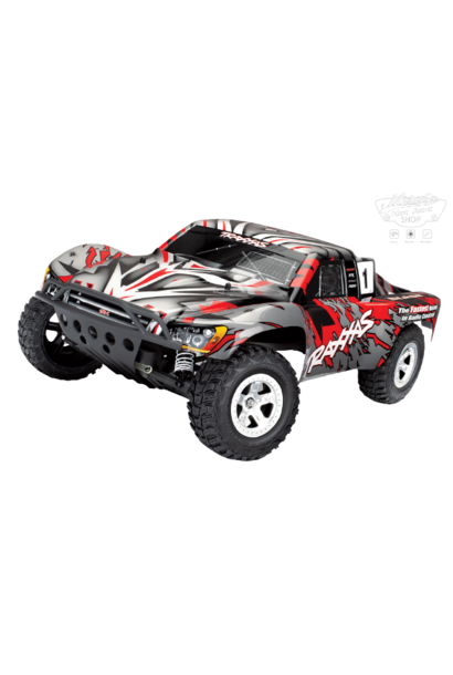 Traxxas Slash 2WD XL-5 TQ (no battery/charger), Red, TRX58024-R