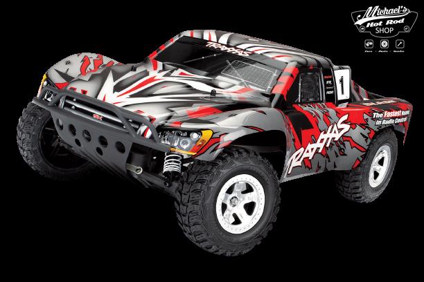 Traxxas Slash 2WD XL-5 TQ (no battery/charger), Red, TRX58024-R-1