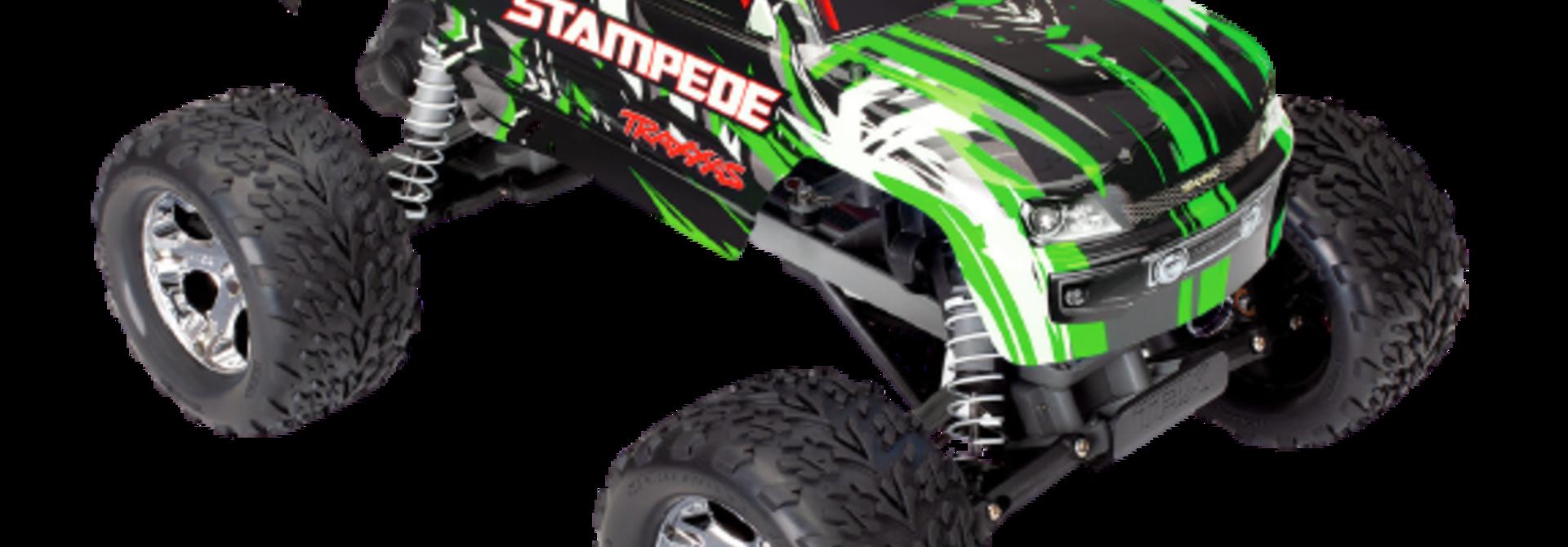 Traxxas Stampede XL-5 TQ (incl battery/charger), Green TRX36054-1G