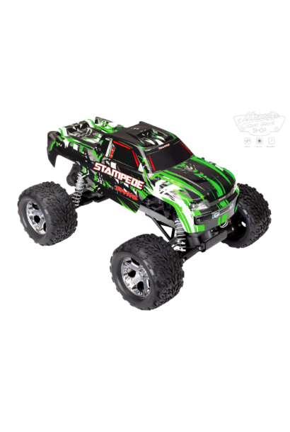Traxxas Stampede XL-5 TQ (incl battery/charger), Green TRX36054-1G