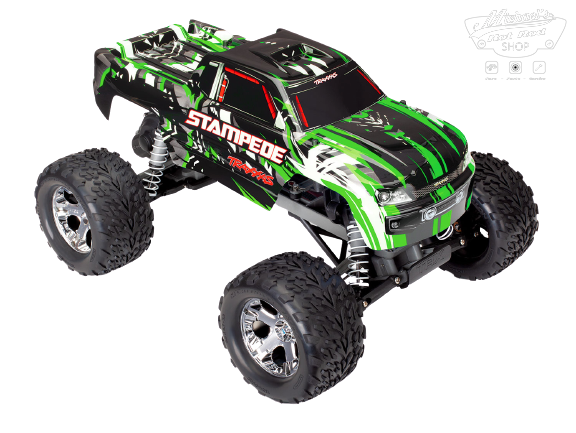 Traxxas Stampede XL-5 TQ (incl battery/charger), Green TRX36054-1G-1