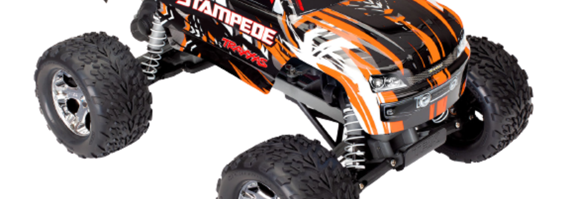 Traxxas Stampede XL-5 TQ (incl battery/charger), Orange TRX36054-1O