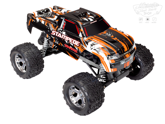 Traxxas Stampede XL-5 TQ (incl battery/charger), Orange TRX36054-1O-1