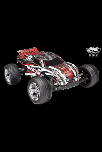 Traxxas Rustler XL-5 TQ (incl battery/charger), Red, TRX37054-1R