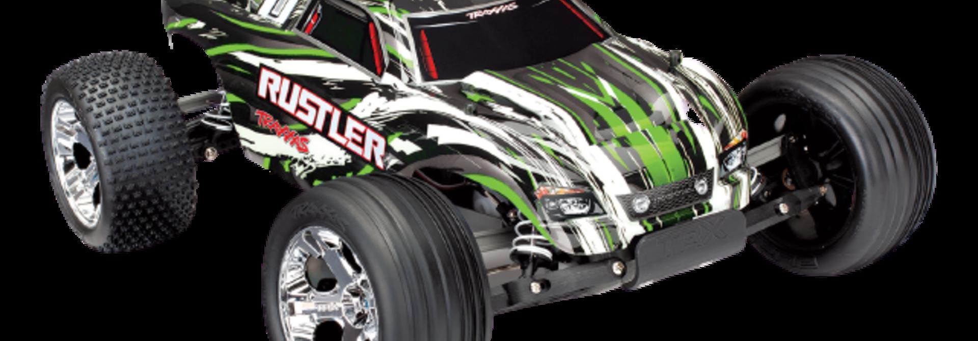 Traxxas Rustler XL-5 TQ (incl battery/charger), Green TRX37054-1G