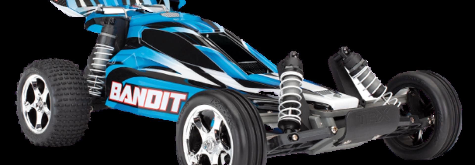 Traxxas Bandit XL-5 TQ (incl. Accu / oplader), Blauw, TRX24054-1B
