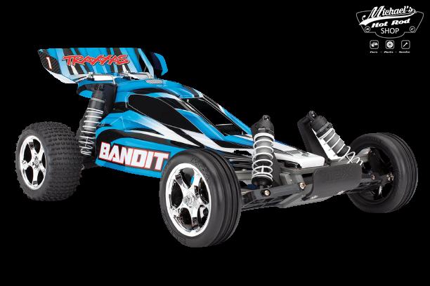 Traxxas Bandit XL-5 TQ (incl. Accu / oplader), Blauw, TRX24054-1B-1