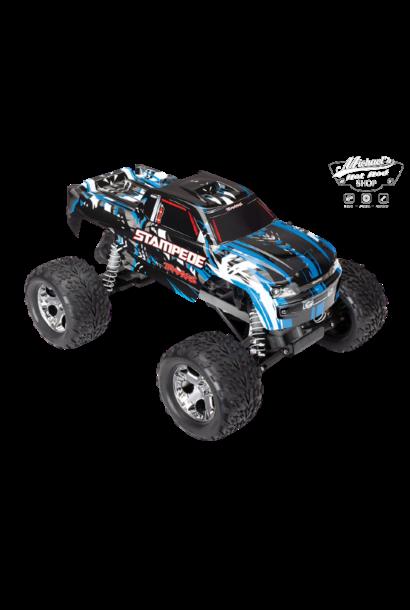 Traxxas Stampede XL-5 TQ (no battery/charger), Blue, TRX36054-4B