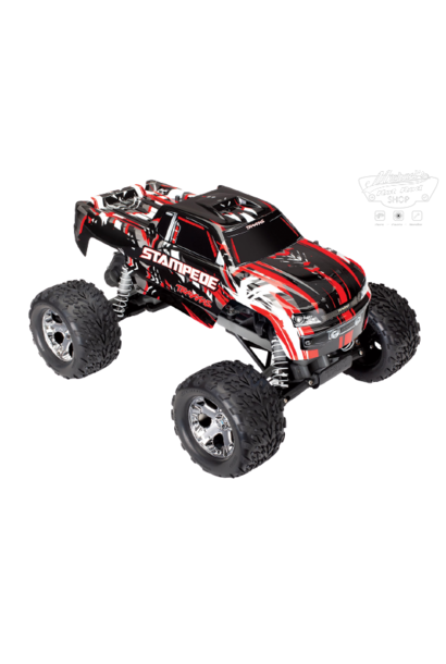 Traxxas Stampede XL-5 TQ (no battery/charger), Red, TRX36054-4R